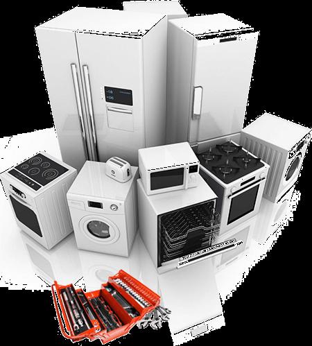 riparazione di elettrodomestici di vario tipo